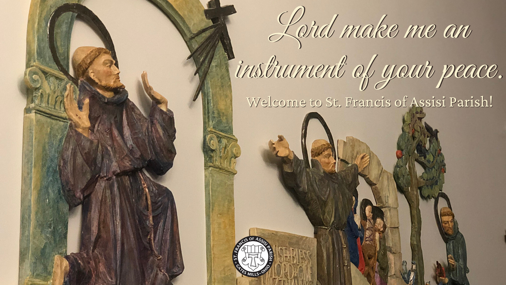 Welcome to St. Francis Website Oct.1